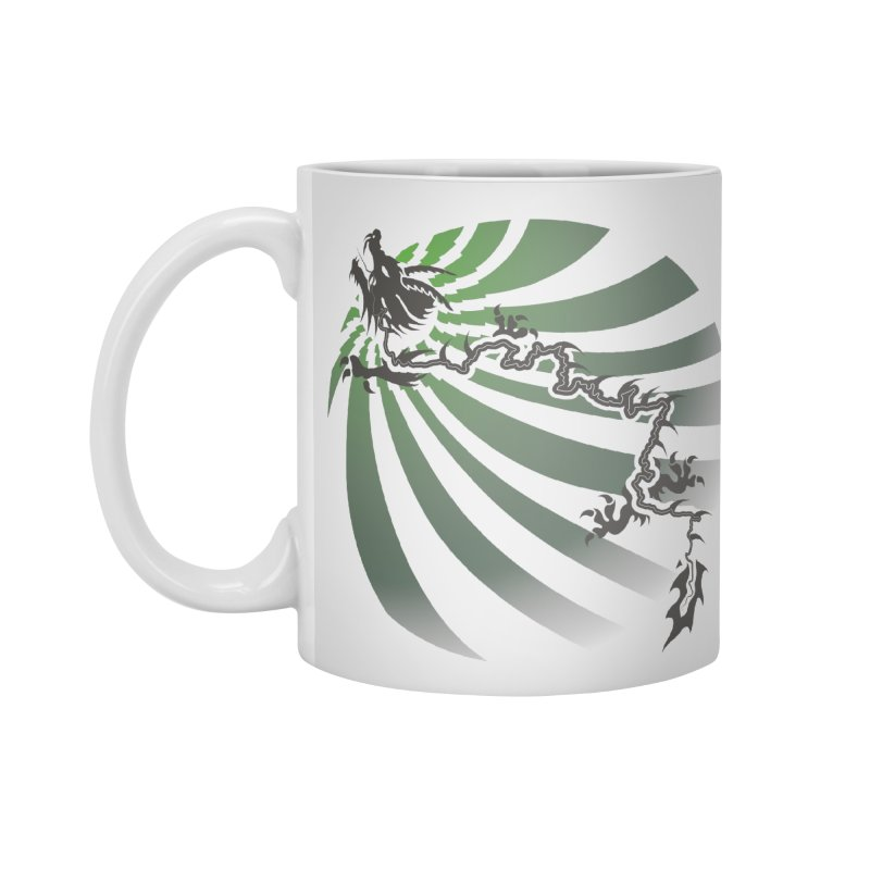 The Dragon - Burst - US129 Accessories Mug by 21 Squirrels Brewery Shop