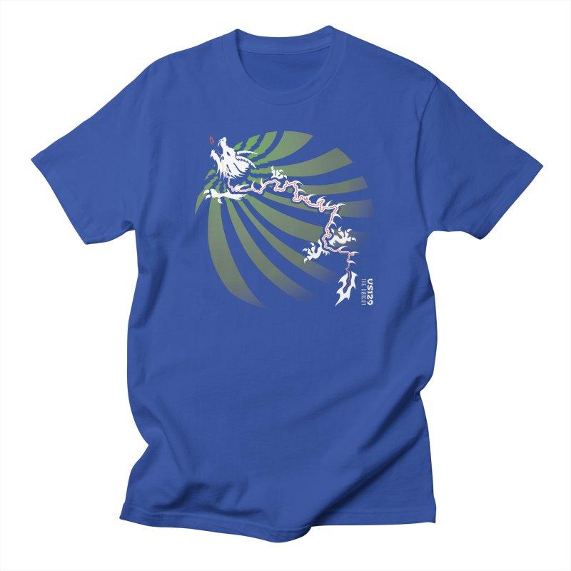 The Dragon - Burst - US 129 - Dark Men's T-Shirt by 21 Squirrels Brewery Shop