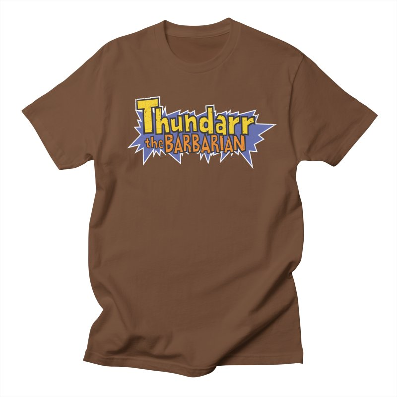 Thundarr The Barbarian - Cartoon Logo Men's Regular T-Shirt by 21 Squirrels Brewery Shop