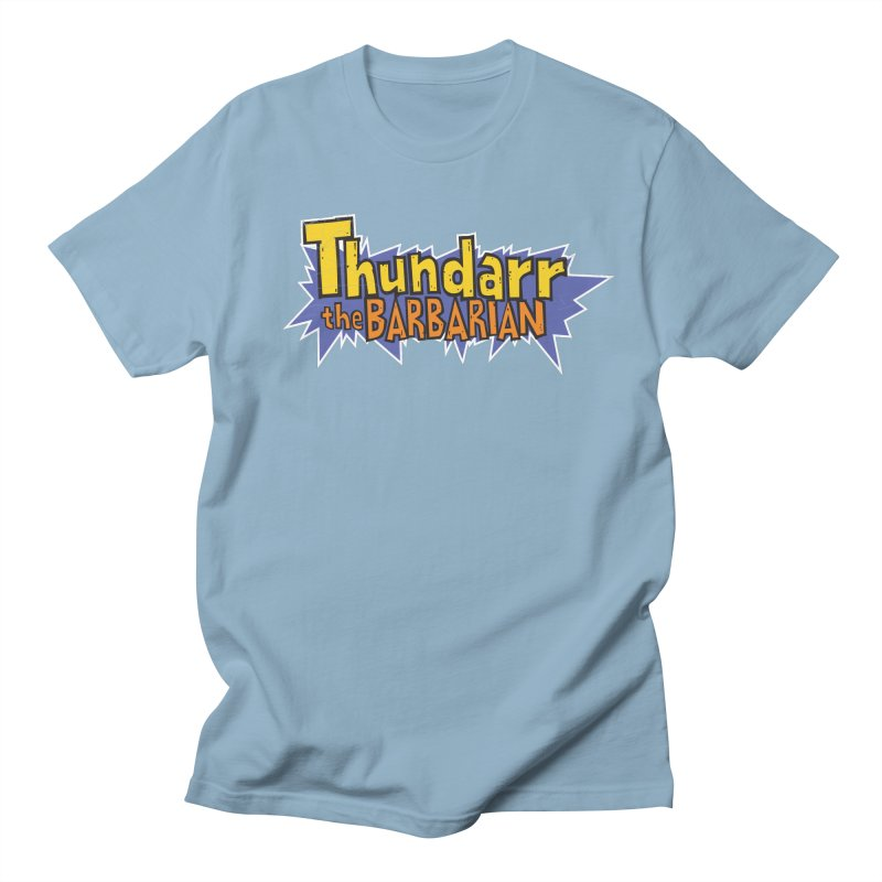 Thundarr The Barbarian - Cartoon Logo Men's T-Shirt by 21 Squirrels Brewery Shop