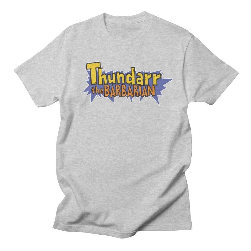 Thundarr The Barbarian - Cartoon Logo Women's Unisex T-Shirt by 21 Squirrels Brewery Shop