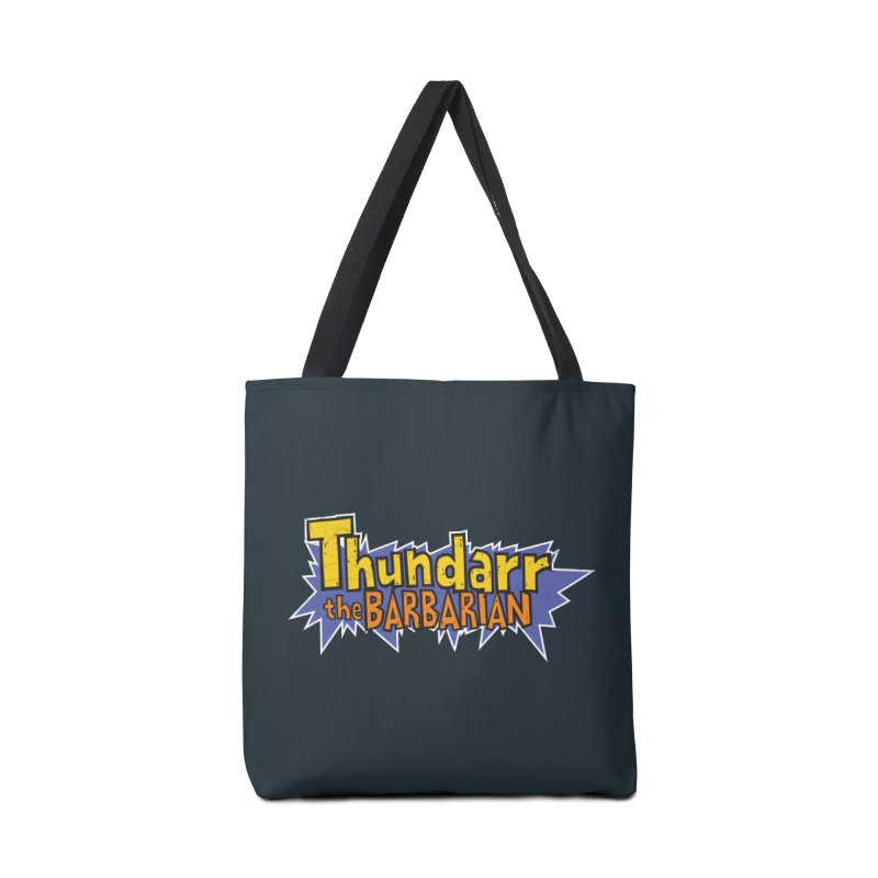 Thundarr The Barbarian - Cartoon Logo Accessories Bag by 21 Squirrels Brewery Shop
