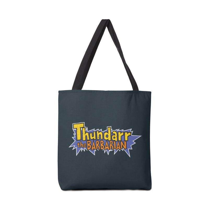 Thundarr The Barbarian - Cartoon Logo Accessories Bag by 21 Squirrels Brewery Shop