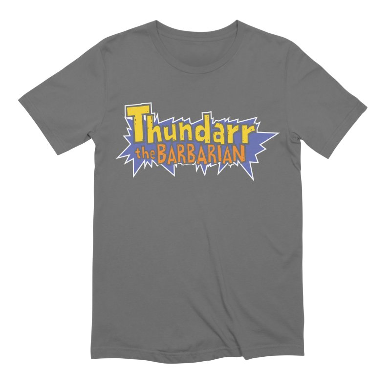 Thundarr The Barbarian - Cartoon Logo Men's Extra Soft T-Shirt by 21 Squirrels Brewery Shop