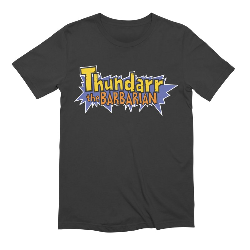 Thundarr The Barbarian - Cartoon Logo Men's Extra Soft T-Shirt by 21 Squirrels Brewery Shop