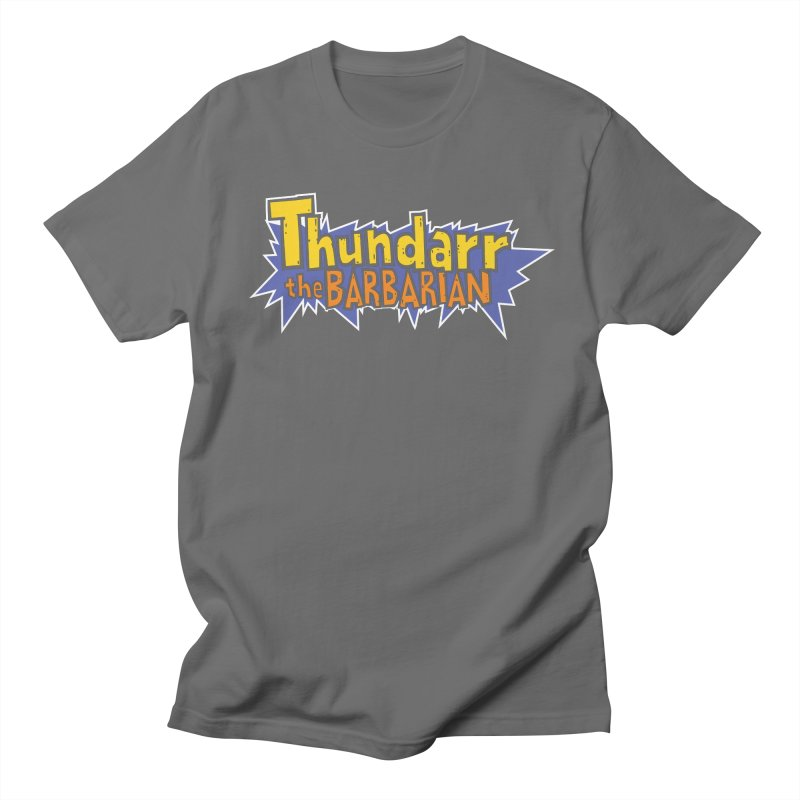 Thundarr The Barbarian - Cartoon Logo Men's Regular T-Shirt by 21 Squirrels Brewery Shop