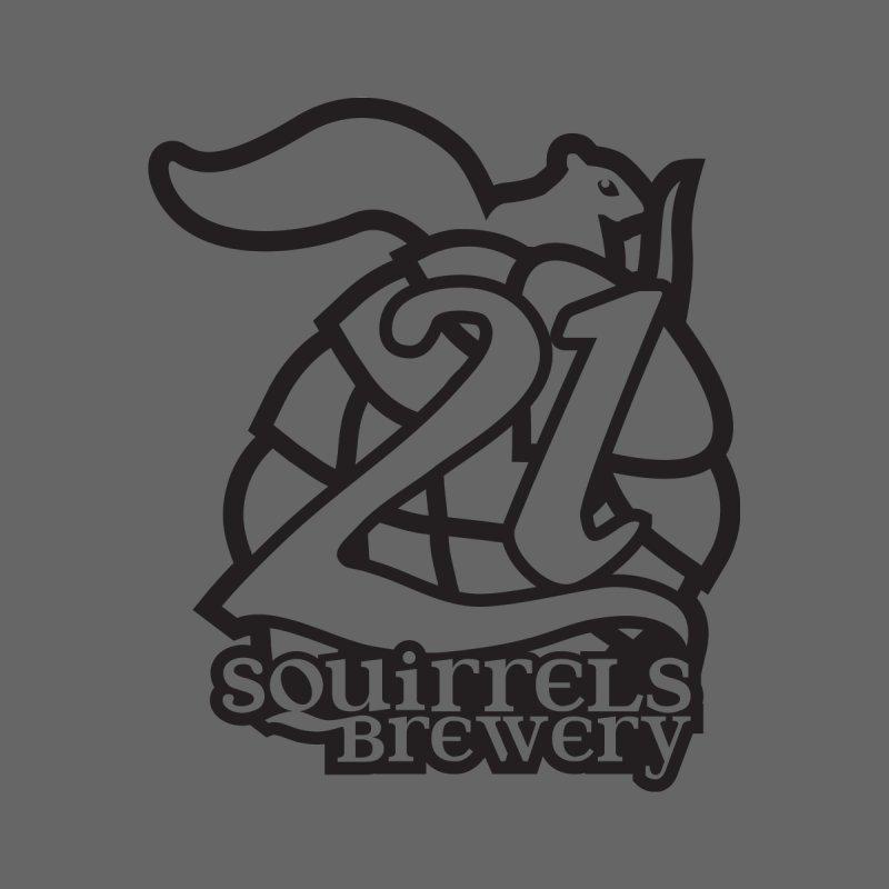 21 Squirrels Brewery Logo - Dark Women's V-Neck by 21 Squirrels Brewery Shop