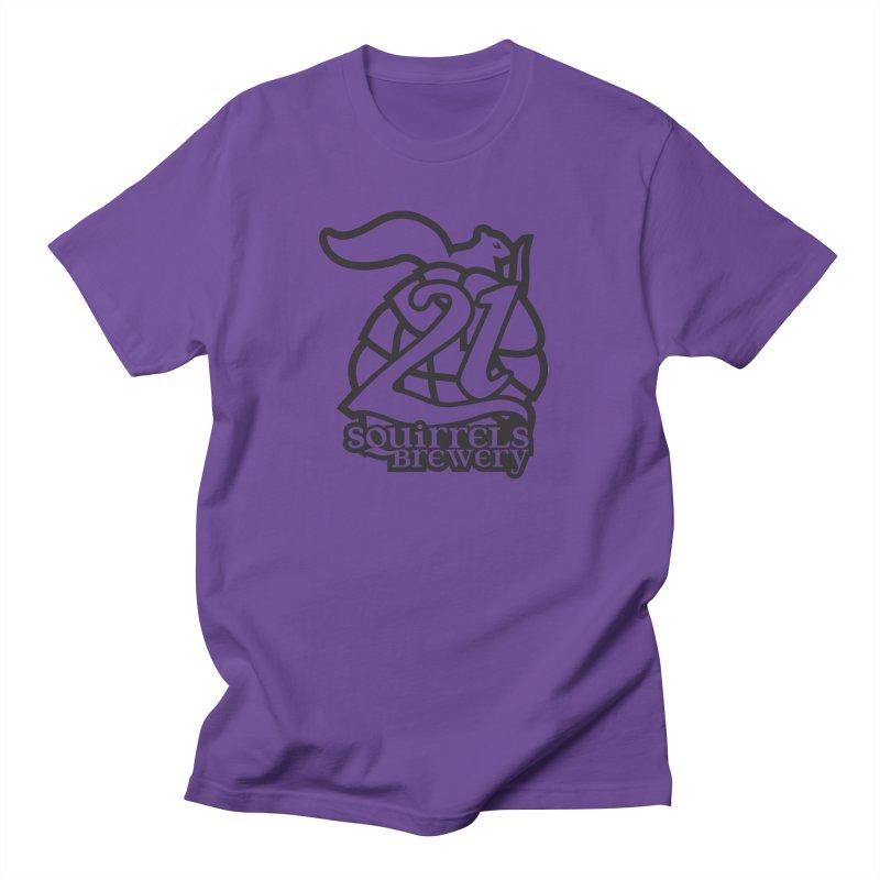 21 Squirrels Brewery Logo - Dark Women's Regular Unisex T-Shirt by 21 Squirrels Brewery Shop