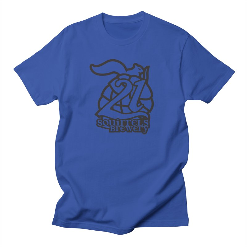 21 Squirrels Brewery Logo - Dark Women's Regular Unisex T-Shirt by 21 Squirrels Brewery Shop