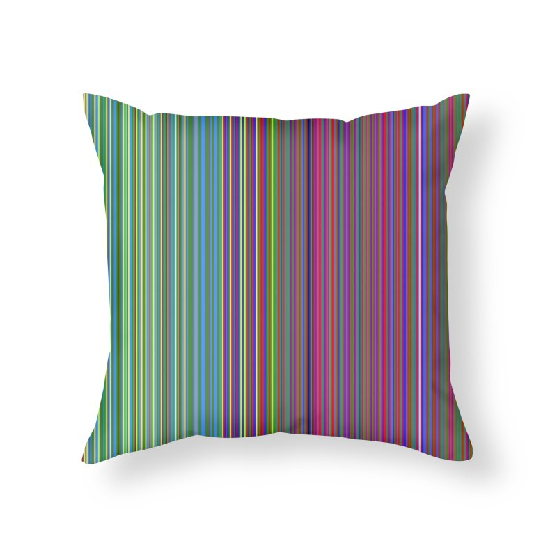 Mister Rogers Sweater Color Art - websafe Home Throw Pillow by 21 Squirrels Brewery Shop