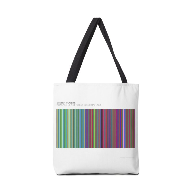 Mister Rogers Sweater Color Art - websafe Accessories Tote Bag Bag by 21 Squirrels Brewery Shop