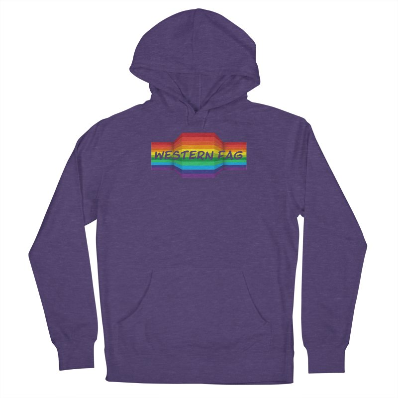 Western Fag Women's Pullover Hoody by 21 Squirrels Brewery Shop