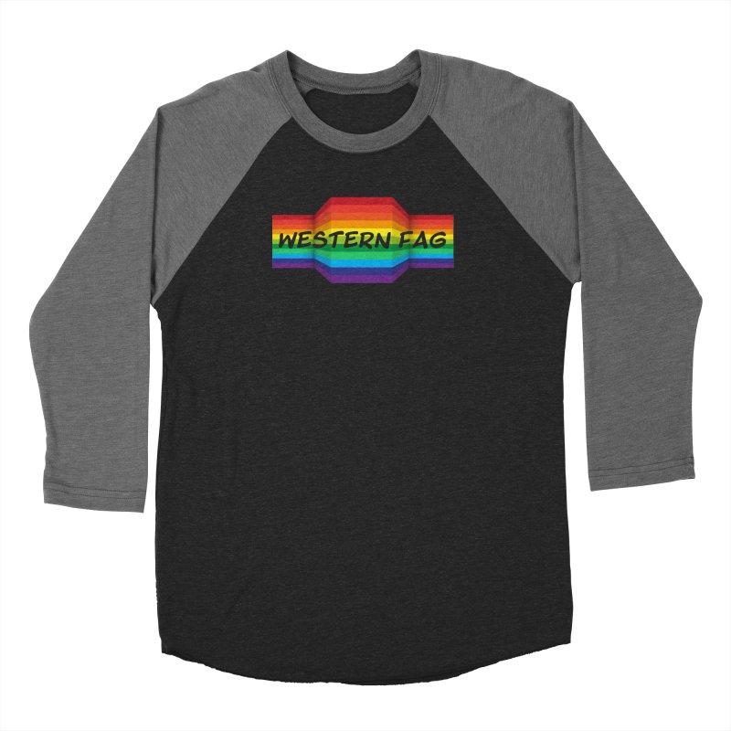 Western Fag Women's Longsleeve T-Shirt by 21 Squirrels Brewery Shop