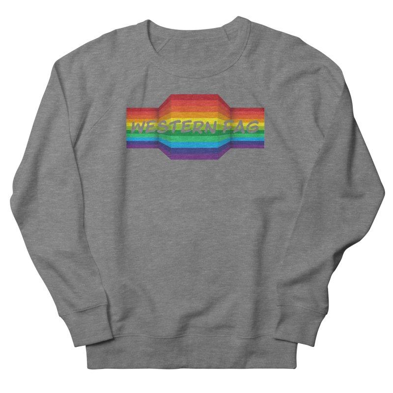 Western Fag Women's Sweatshirt by 21 Squirrels Brewery Shop