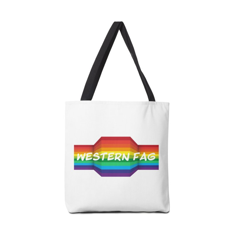 Western Fag Accessories Tote Bag Bag by 21 Squirrels Brewery Shop