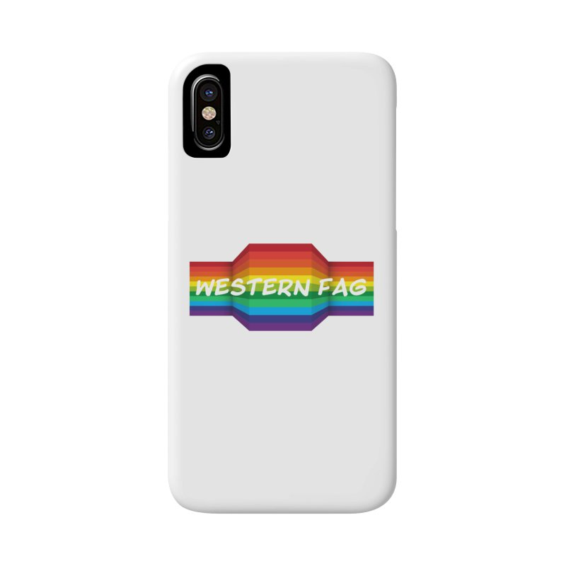 Western Fag Accessories Phone Case by 21 Squirrels Brewery Shop