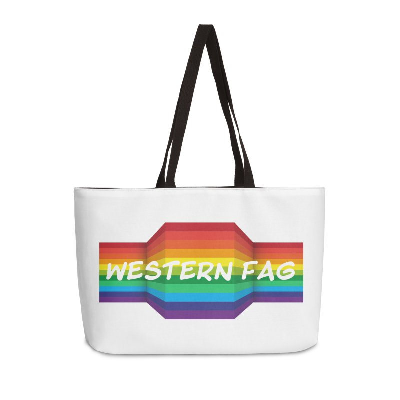 Western Fag Accessories Bag by 21 Squirrels Brewery Shop