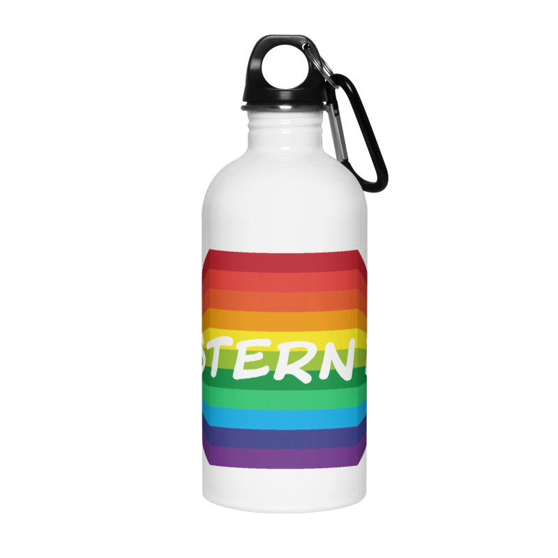 Western Fag Accessories Water Bottle by 21 Squirrels Brewery Shop