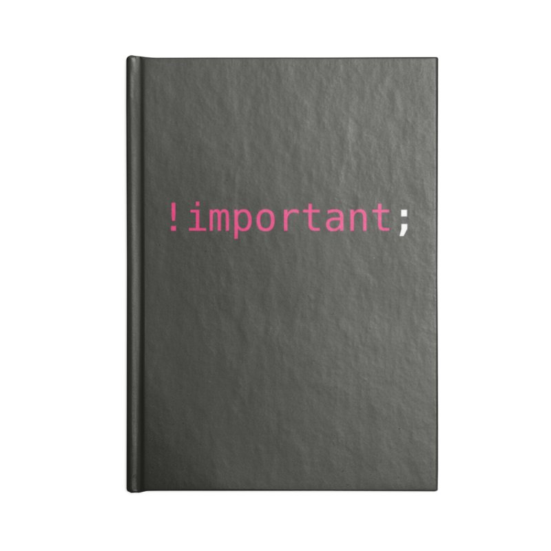 !important; -dark color Accessories Blank Journal Notebook by 21 Squirrels Brewery Shop