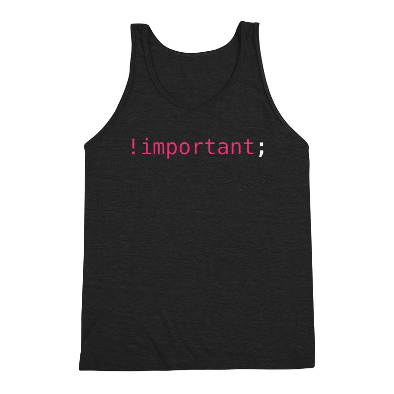 !important; -dark color Men's Triblend Tank by 21 Squirrels Brewery Shop