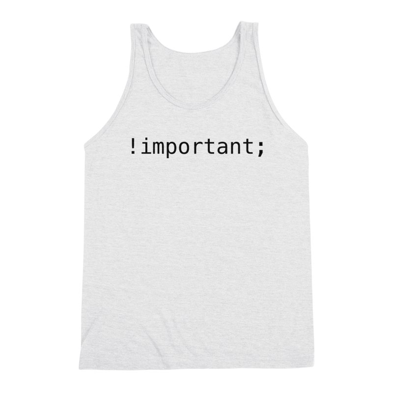 !important; - light Men's Triblend Tank by 21 Squirrels Brewery Shop
