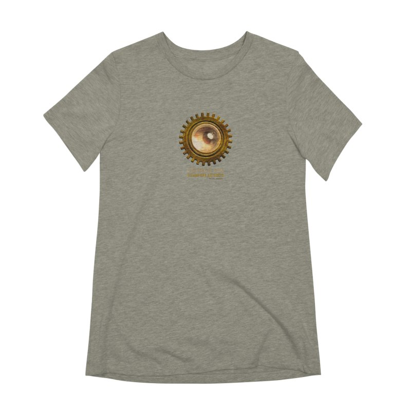 Clothed Eye Logo - Steampunk Artifacts Women's Extra Soft T-Shirt by 21 Squirrels Brewery Shop