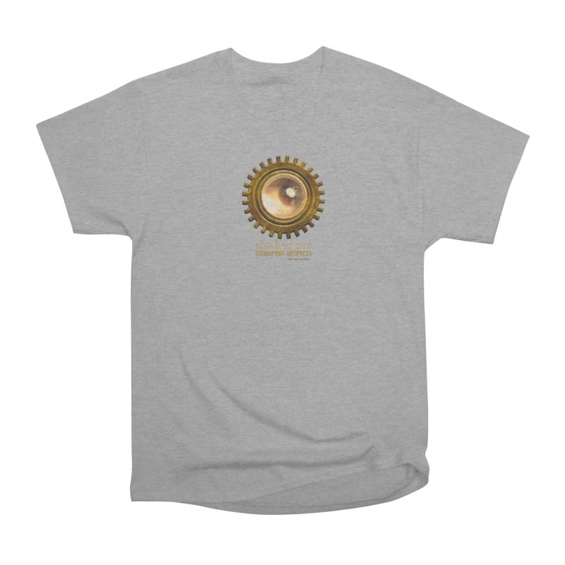 Clothed Eye Logo - Steampunk Artifacts Men's Heavyweight T-Shirt by 21 Squirrels Brewery Shop