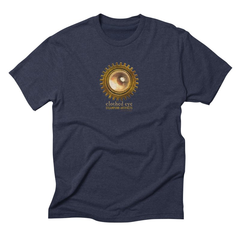 Clothed Eye Logo - Steampunk Artifacts Men's Triblend T-Shirt by 21 Squirrels Brewery Shop