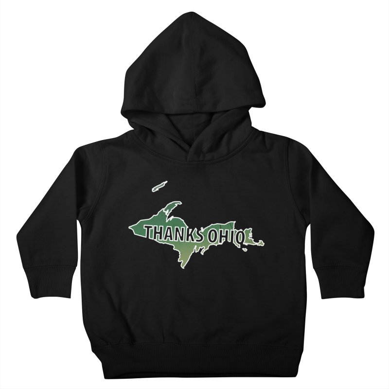 Thanks Ohio! Kids Toddler Pullover Hoody by 21 Squirrels Brewery Shop