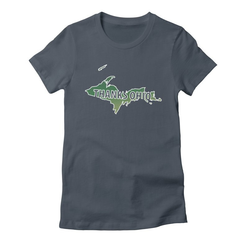 Thanks Ohio! Women's Fitted T-Shirt by 21 Squirrels Brewery Shop