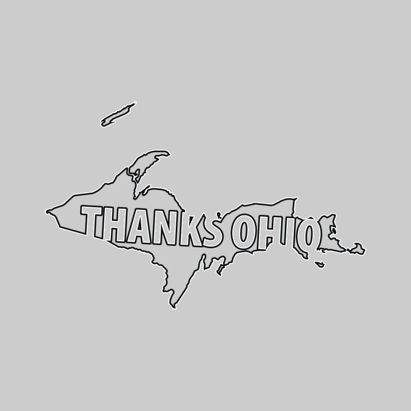 Thanks Ohio! Men's Sweatshirt by 21 Squirrels Brewery Shop