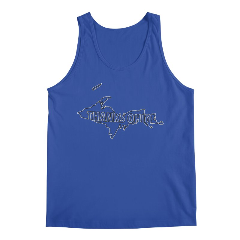 Thanks Ohio! Men's Tank by 21 Squirrels Brewery Shop