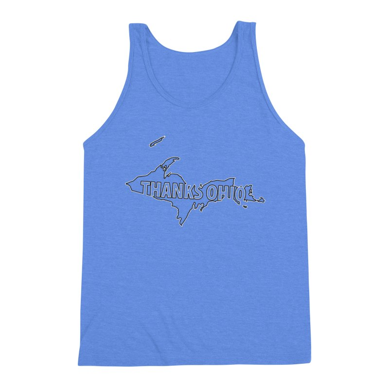 Thanks Ohio! Men's Triblend Tank by 21 Squirrels Brewery Shop