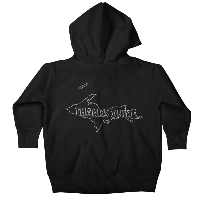 Thanks Ohio! Kids Baby Zip-Up Hoody by 21 Squirrels Brewery Shop
