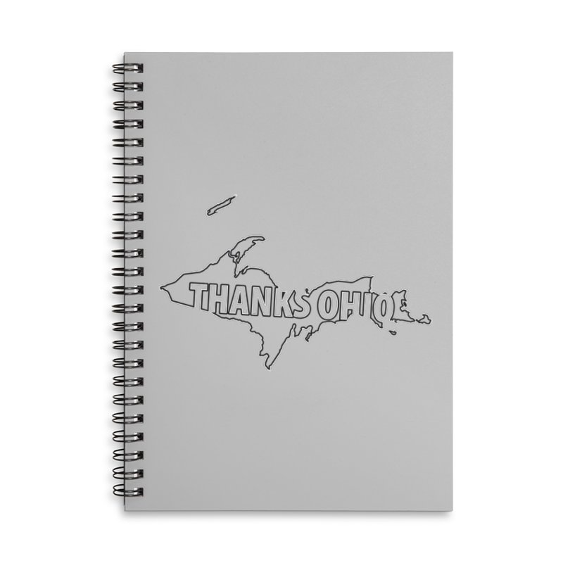 Thanks Ohio! Accessories Lined Spiral Notebook by 21 Squirrels Brewery Shop