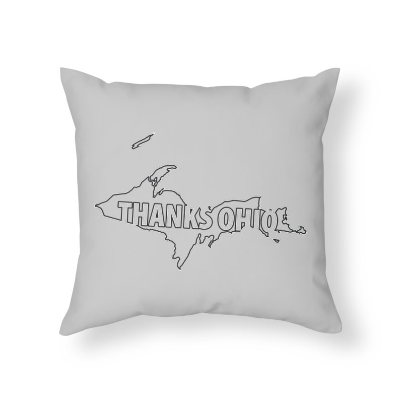 Thanks Ohio! Home Throw Pillow by 21 Squirrels Brewery Shop