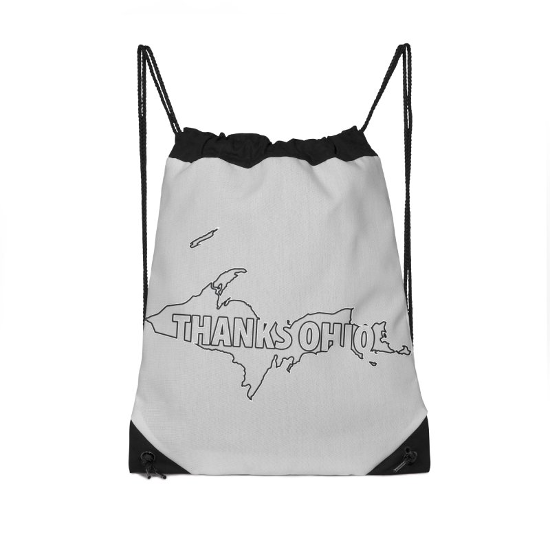 Thanks Ohio! Accessories Drawstring Bag Bag by 21 Squirrels Brewery Shop