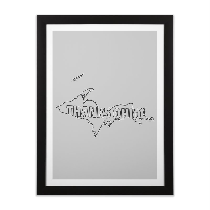 Thanks Ohio! Home Framed Fine Art Print by 21 Squirrels Brewery Shop