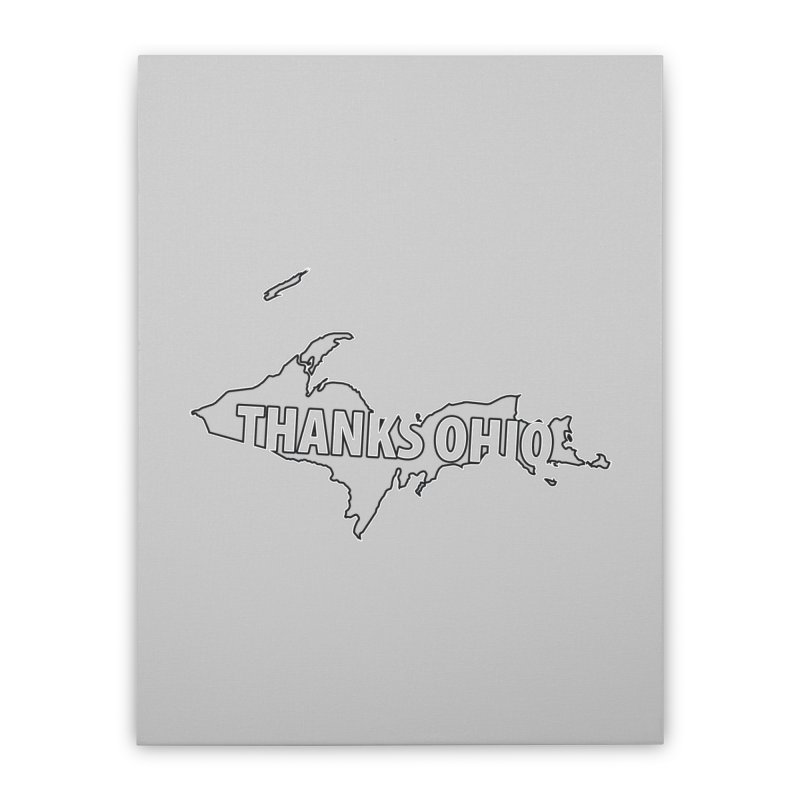 Thanks Ohio! Home Stretched Canvas by 21 Squirrels Brewery Shop