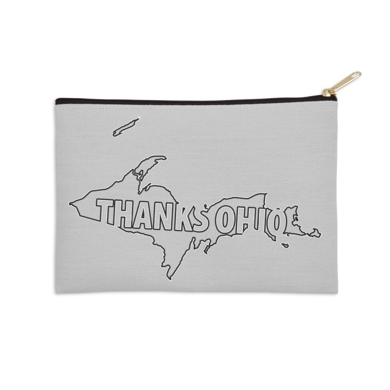 Thanks Ohio! Accessories Zip Pouch by 21 Squirrels Brewery Shop