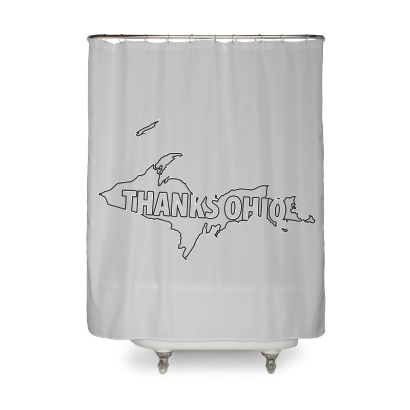 Thanks Ohio! Home Shower Curtain by 21 Squirrels Brewery Shop