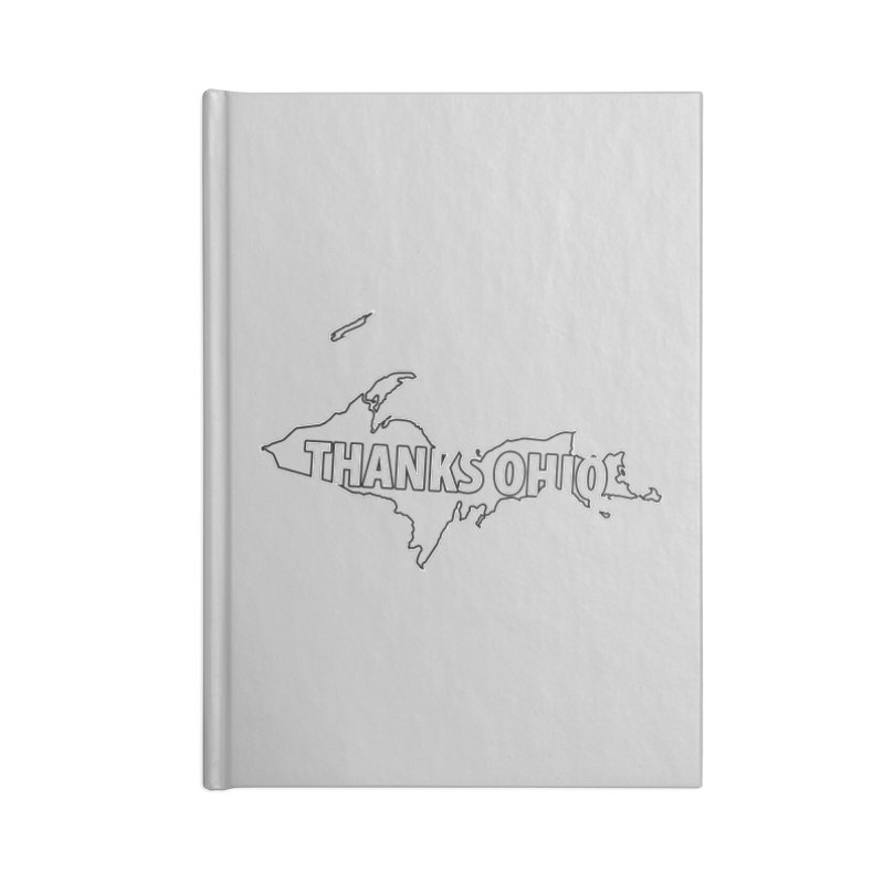 Thanks Ohio! Accessories Blank Journal Notebook by 21 Squirrels Brewery Shop