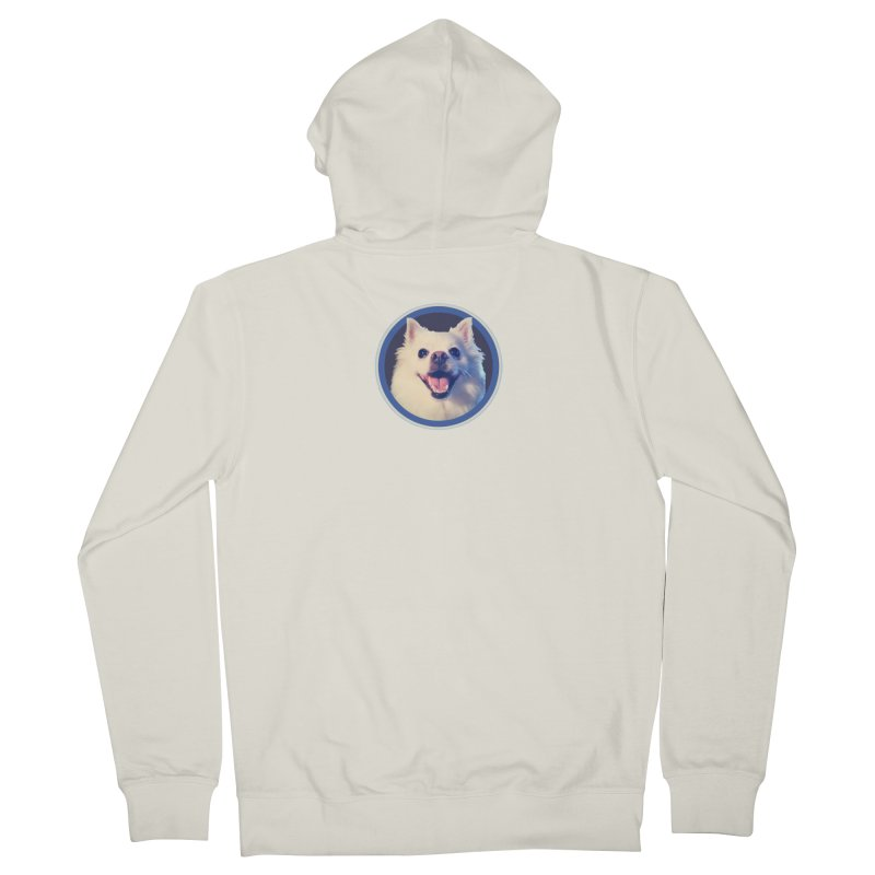 Connie is very happy Women's French Terry Zip-Up Hoody by 21 Squirrels Brewery Shop
