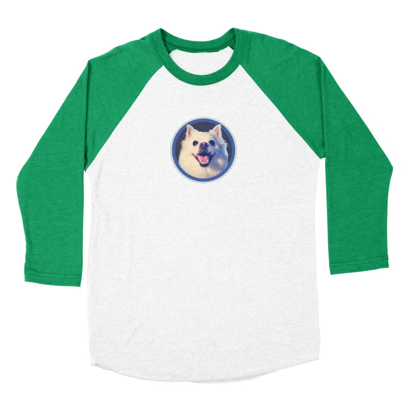 Connie is very happy Women's Baseball Triblend Longsleeve T-Shirt by 21 Squirrels Brewery Shop