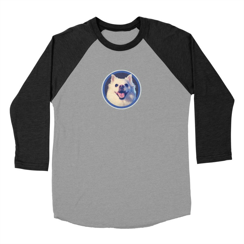 Connie is very happy Men's Baseball Triblend Longsleeve T-Shirt by 21 Squirrels Brewery Shop