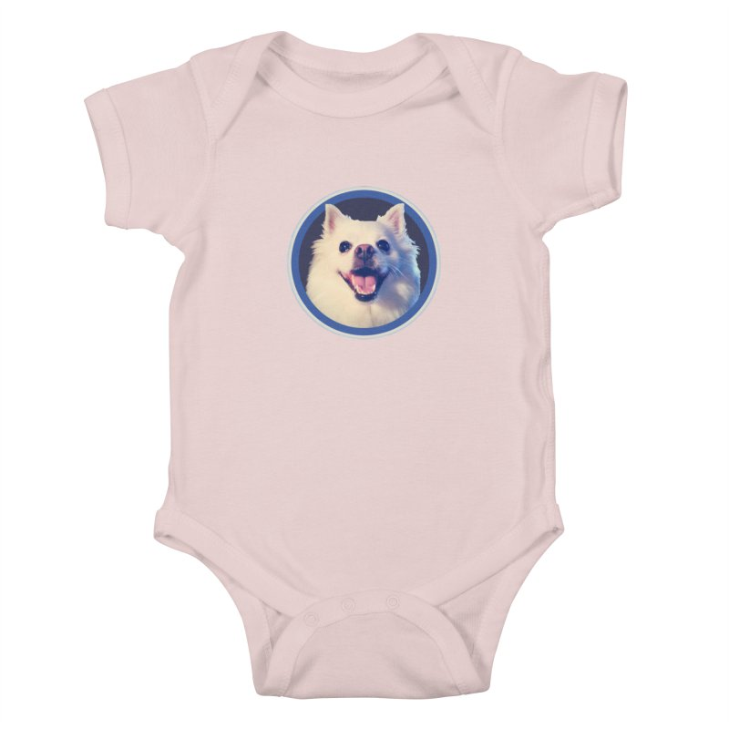 Connie is very happy Kids Baby Bodysuit by 21 Squirrels Brewery Shop