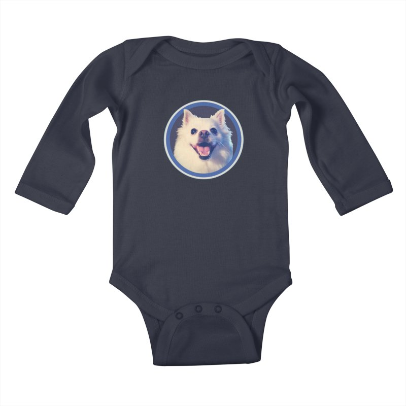 Connie is very happy Kids Baby Longsleeve Bodysuit by 21 Squirrels Brewery Shop