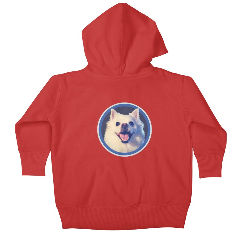 Connie is very happy Kids Baby Zip-Up Hoody by 21 Squirrels Brewery Shop