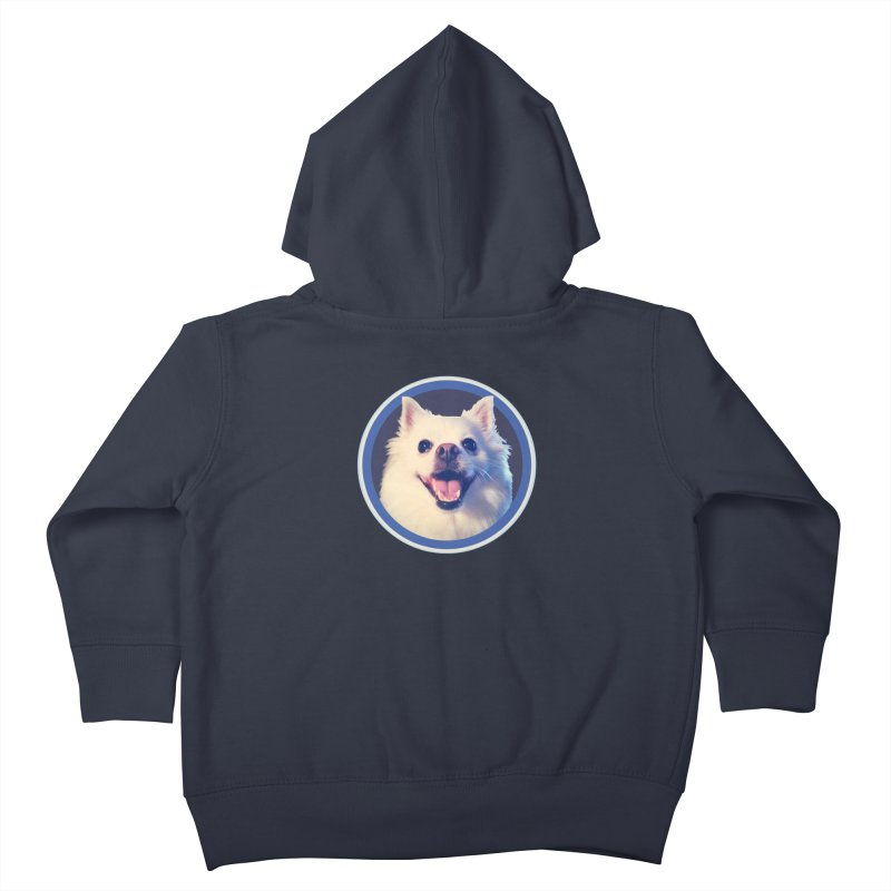 Connie is very happy Kids Toddler Zip-Up Hoody by 21 Squirrels Brewery Shop