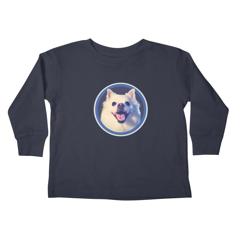 Connie is very happy Kids Toddler Longsleeve T-Shirt by 21 Squirrels Brewery Shop